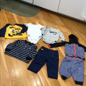 7 pieces of baby clothes for one price